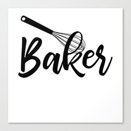 Baker Canvas Print