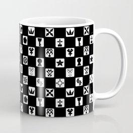 Kingdom Hearts Grid Coffee Mug