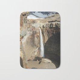 Mountain river, view of cascade waterfall on canyon Bath Mat