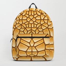 Pure Gold Voronoi Backpack