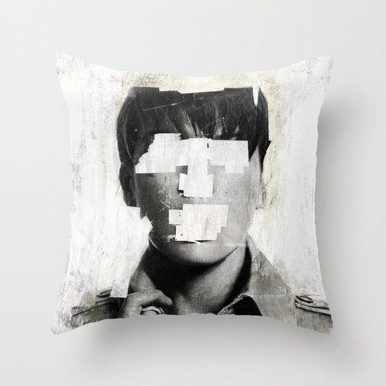 Faceless | number 02 Throw Pillow