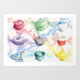 Tea Connections, 2021 Art Print