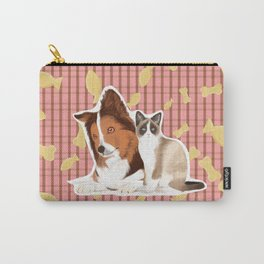 Can we eat now? Carry-All Pouch