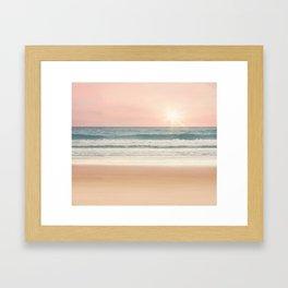 The breath of life Framed Art Print