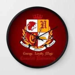 Camelot University. Wall Clock