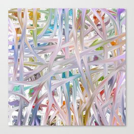Abstract Multi-coloured 1953 Canvas Print