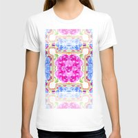 moroccan T-shirts featuring Moroccan Rose by Yaz Raja Designs