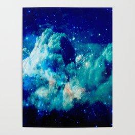 A Deep Cerulean Dream Poster