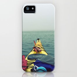 Tomales Bay Kayaking - Inverness, California iPhone Case