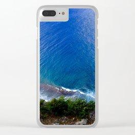 Guam Tasi Clear iPhone Case