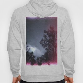 Light Leak Reflection on the Water - Film Photograph Hoody