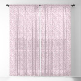 Botanical Impressions: CAMELLIA Sheer Curtain