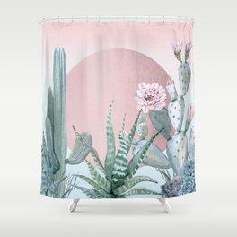 Desert Sunset by Nature Magick Shower Curtain