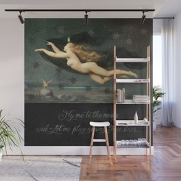 """Fly me to the moon"" Wall Mural"