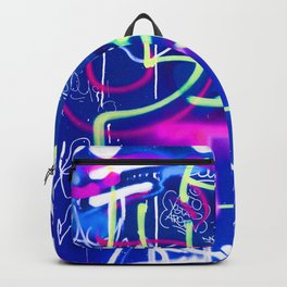 Blue Mood with Pink Language Backpack