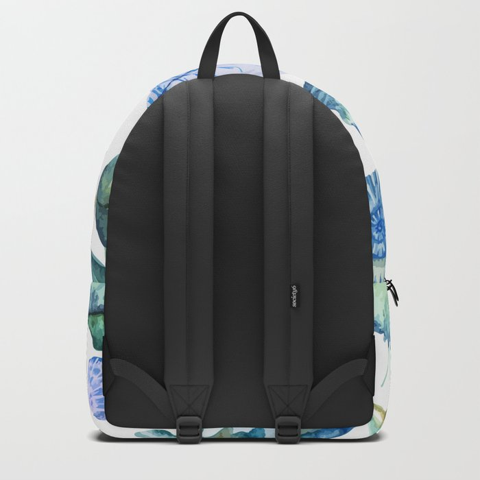 Sea Life Pattern 05 Backpack