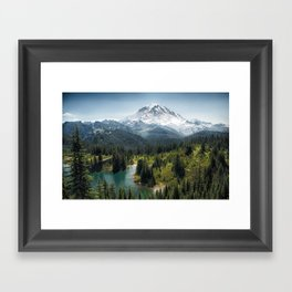 Mountain, Scenic, Eunice Lake 2016 Framed Art Print