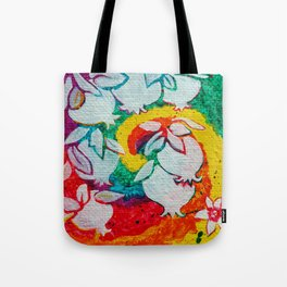 Leaves on the World Tree: Armenian Pomegranate Tote Bag