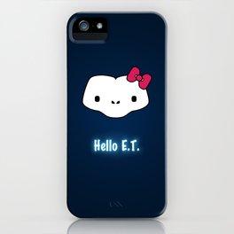 Hello E.T. iPhone Case