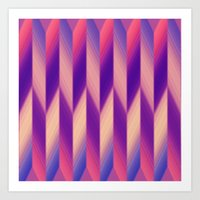 Pattern Wear 20 Art Print