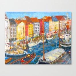 New Harbor, Copenhagen Canvas Print