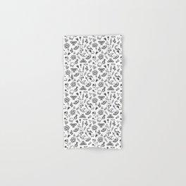 Modern Witch - White Hand & Bath Towel