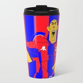 R9 BlauGrana Travel Mug