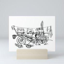I believe I can fly Mini Art Print