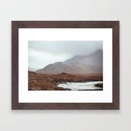 Scottish landscape, I Framed Art Print
