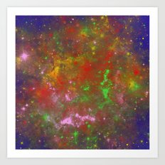 Creation - Abstract painting Art Print
