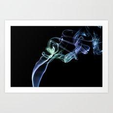 Smokey 4 Art Print