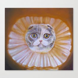 Chauncey Von Whiskerman Canvas Print