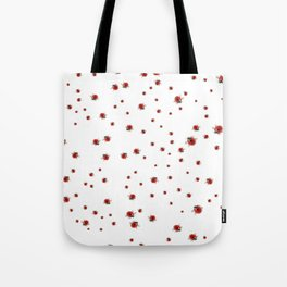 Ladybirds / Ladybugs Tote Bag