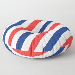 Barber Stripes Floor Pillow