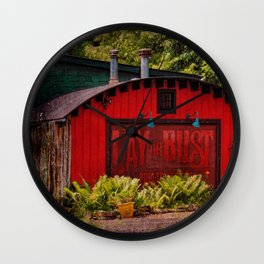 Chicken Cathedral Wall Clock