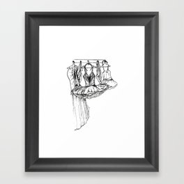 Dress Rehearsal Framed Art Print