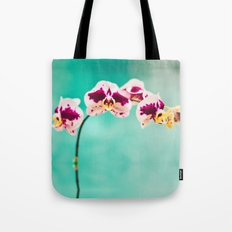 Orchids for an office lobby Tote Bag