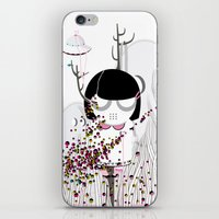 i want to believe iPhone & iPod Skins featuring I WANT TO BELIEVE by Agente Morillas