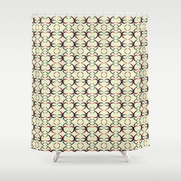 Japonese Abstract  Shower Curtain