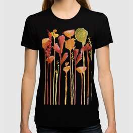 Bright Drip Florals T-shirt