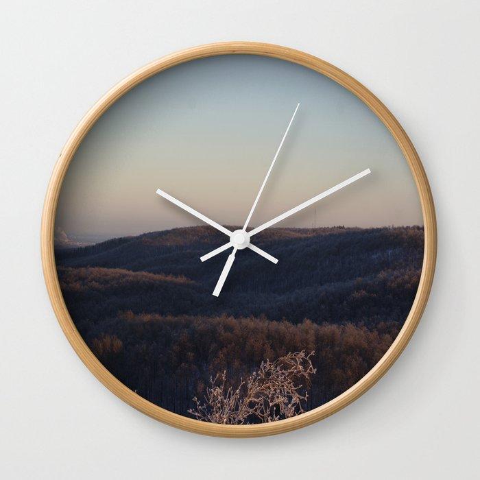 Vermont, USA Wall Clock