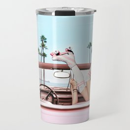 Long Beach Travel Mug