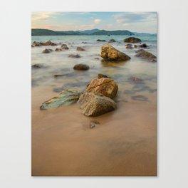 Rocky Coastline Vietnam Canvas Print