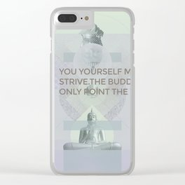 You yourself must strive #everyweek 2.2017 Clear iPhone Case