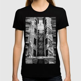New York fire escapes T-shirt