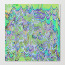 Eclectic Electric Canvas Print
