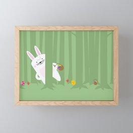 Easter Bunnyville Framed Mini Art Print