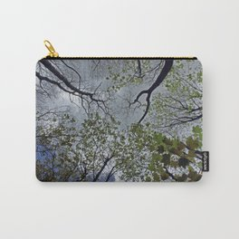 Tree canopy in the spring Carry-All Pouch