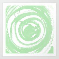 Swirl Sage Art Print