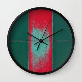 August II Wall Clock